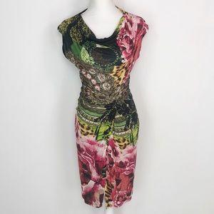 NWOT Desigual Floral Twist Dress